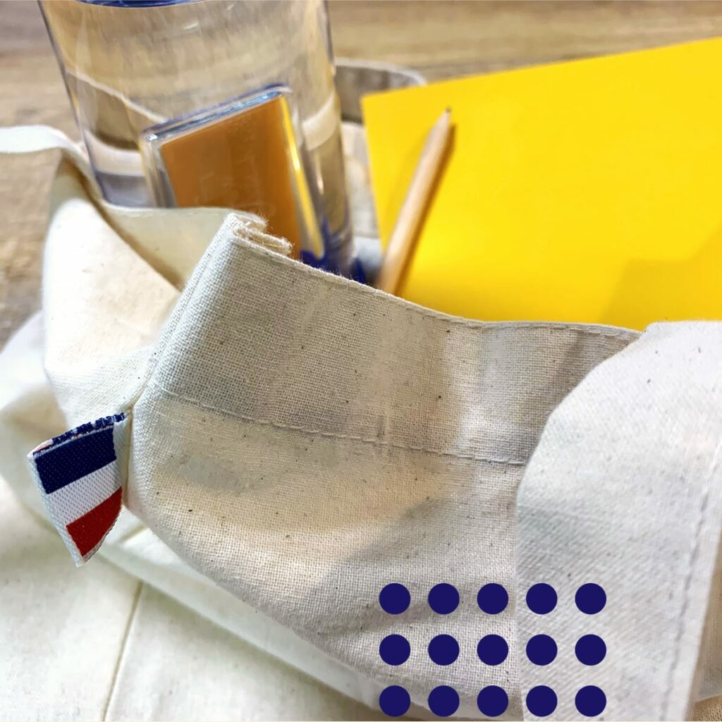 welcome pack fabrication française par happyfew